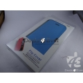 BRAND NEW BLUE HARD SHELL MAGNATE FLIP CASE COVER POUCH FOR APPLE IPHONE 5
